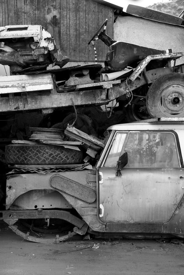 Download Old abandoned car stock image. Image of junker, derelict - 15216827