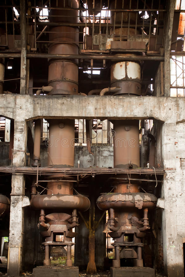 Download Old Abandoned Factory - Furnance Stock Photo - Image: 18658524