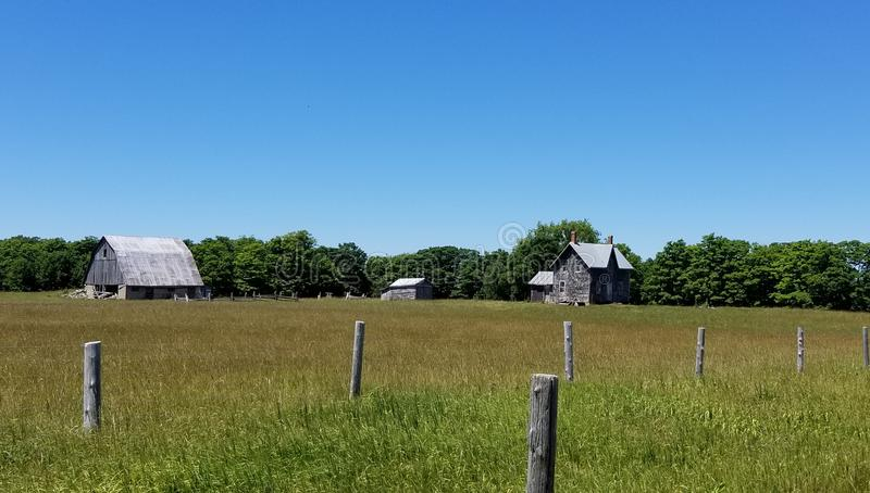 Abandoned farm stock images