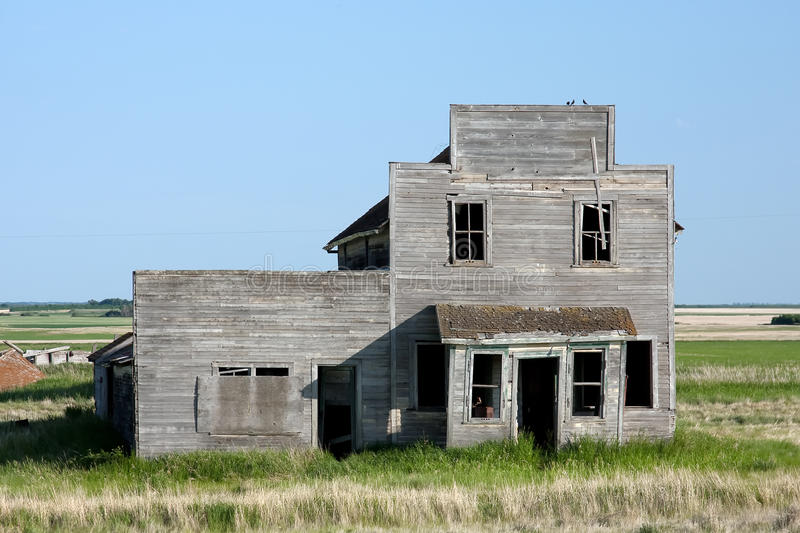 Download Old Abandoned General Store Stock Photo - Image: 10053702