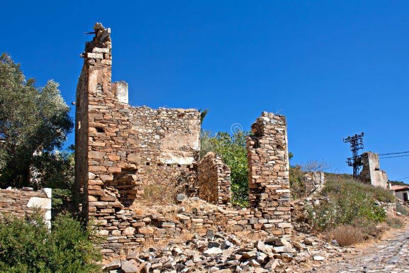 Download Old Abandoned Greek/Turkish Village Of Doganbey, Turkey Stock Images - Image: 35670274