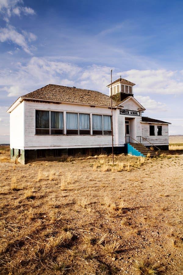 Download Old Abandoned Pioneer School Stock Image - Image: 5118211