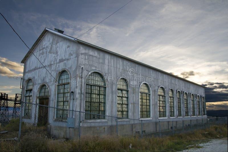 Old Abandoned Storage Warehouse Stock Photography