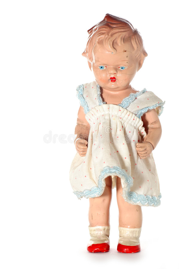 Free Old Abused Child Doll 3 Stock Images - 2138584