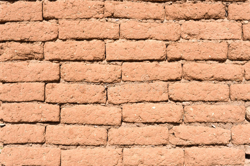 Old adobe wall. stock images