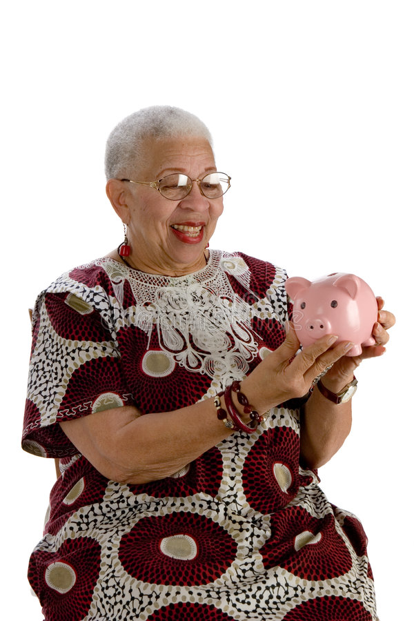 Download Old african american lady stock image. Image of ethnic - 4455779