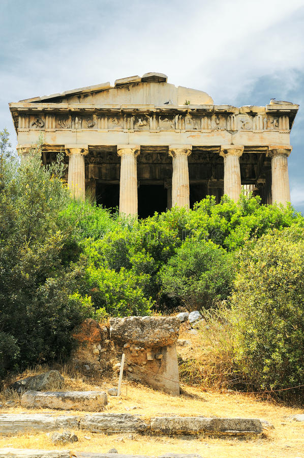 Download Old Agora In Athens Stock Images - Image: 17164564