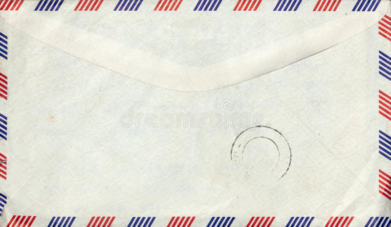 Download Old Air Mail Envelope With Stamp Stock Image - Image: 26685141