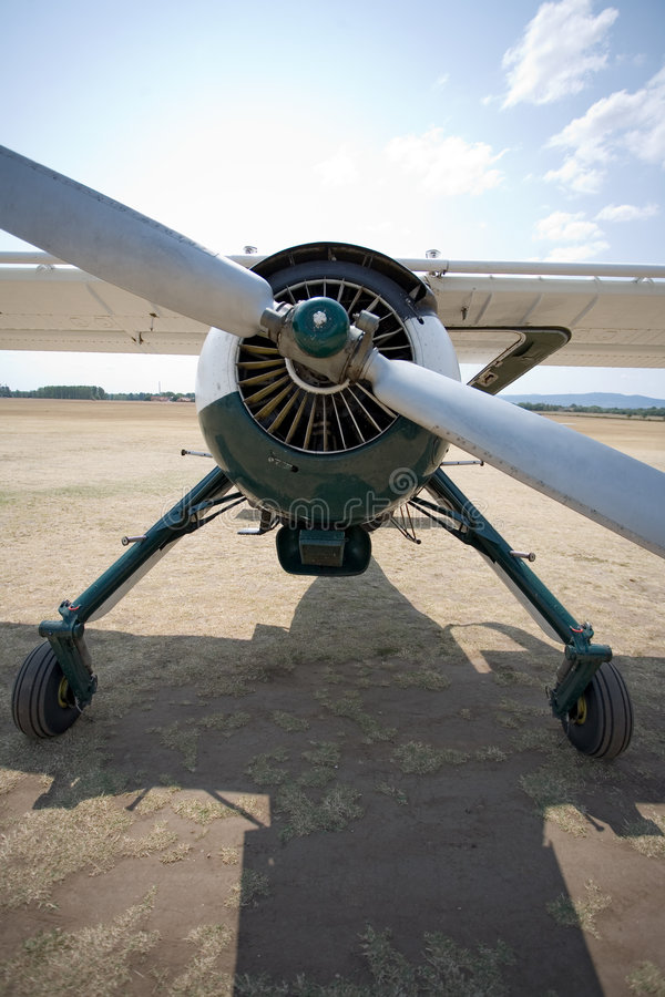 Free Old Aircraft On The Ground Stock Photo - 3169640