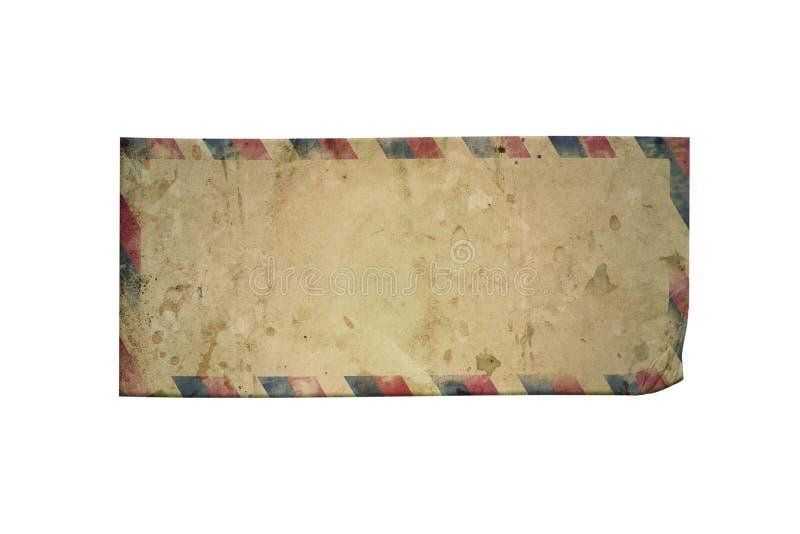Download Old airmail envelope stock illustration. Image of damaged - 12831734