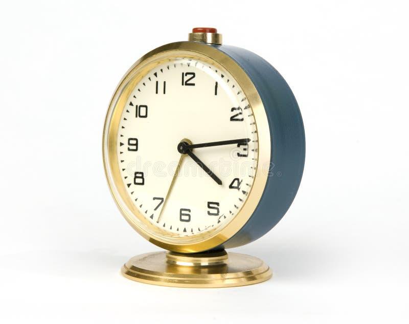Old alarm clock stock photography