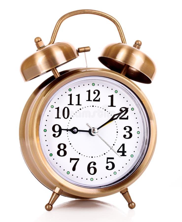 Old alarm-clock royalty free stock photo