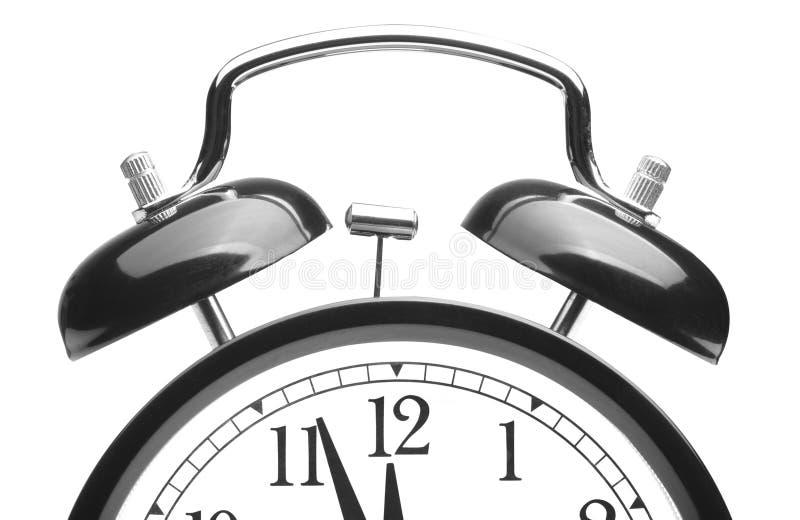 Download Old alarm clock stock image. Image of retro, hour, black - 28241499