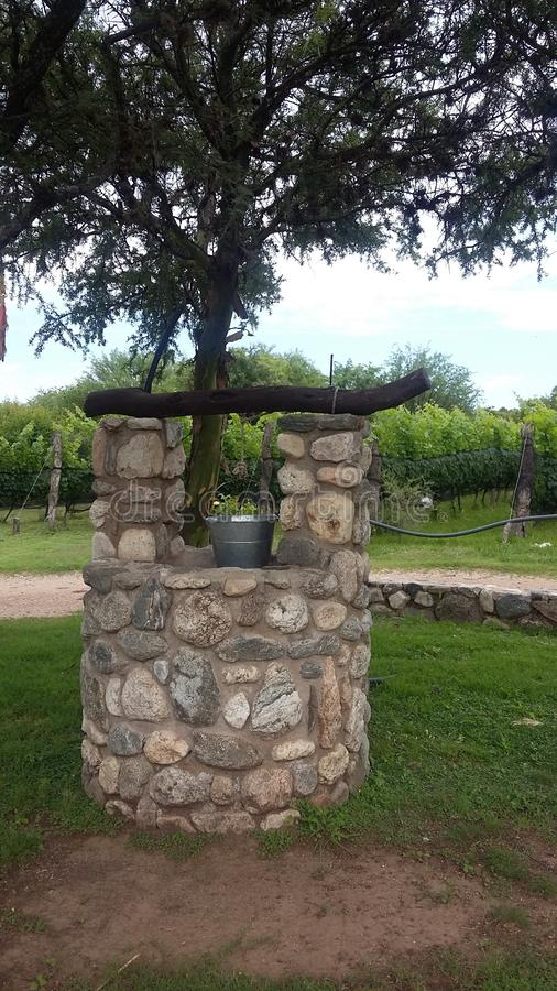 Old Aljibe in Merlo, San Luis Argentina. Picture of old Aljibe in Villa de Merlo, San Luis Argentina stock photography