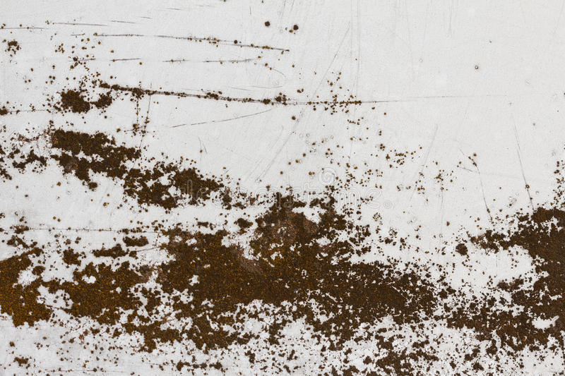 Old aluminum background detail of a military aircraft, surface corrosion. Oxidized metal texture with rivets stock images
