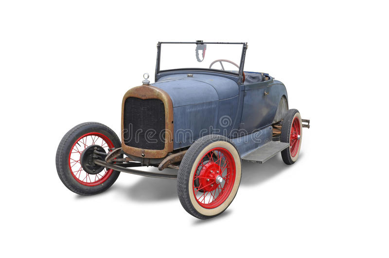 Old American Automobile Royalty Free Stock Photo