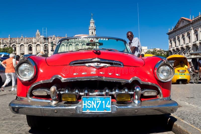 Download Old american car in Cuba editorial photo. Image of retro - 17458941