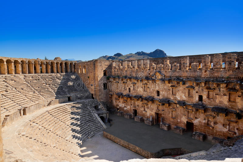 Download Old Amphitheater Aspendos In Antalya, Turkey Stock Photo - Image: 22854548