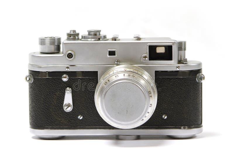 Old analog russian photo camera stock image