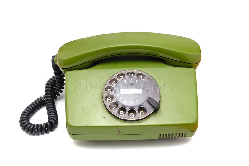 Download Old Analogue Disk Phone Stock Image - Image: 11017591