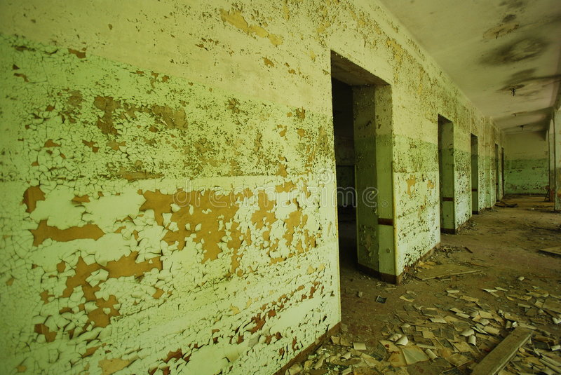 Old anbandoned building stock images