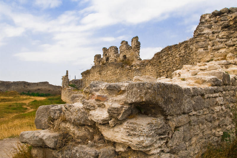 Old ancient castle stock images