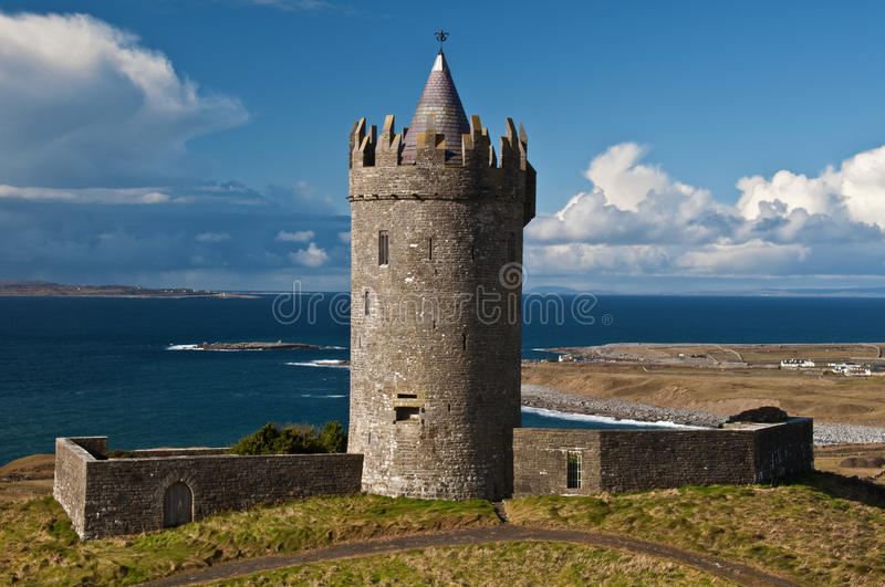 Download Old Ancient Irish Castle On The West Of Ireland Stock Image - Image: 13330357