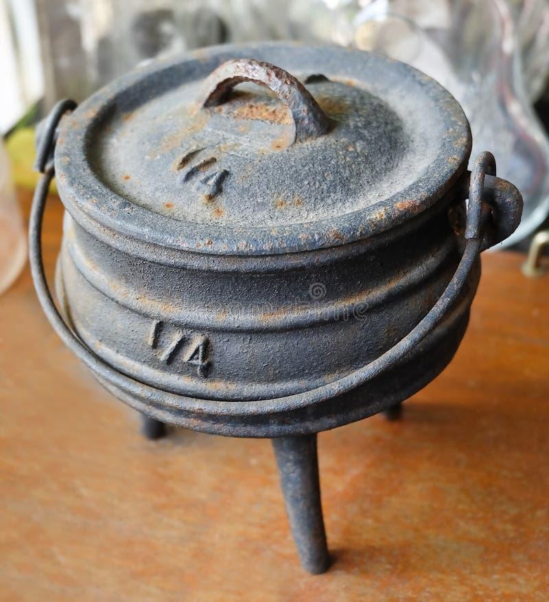 Old Ancient Joss Stick Pot or Incense Burner stock photos