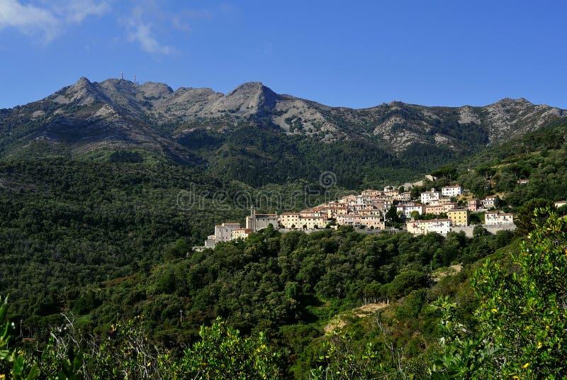 Marciana, Elba, Tuscany, Italy royalty free stock image