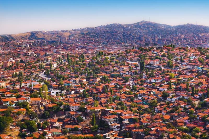 Old Ankara Turkey. Architecture travel background stock photography
