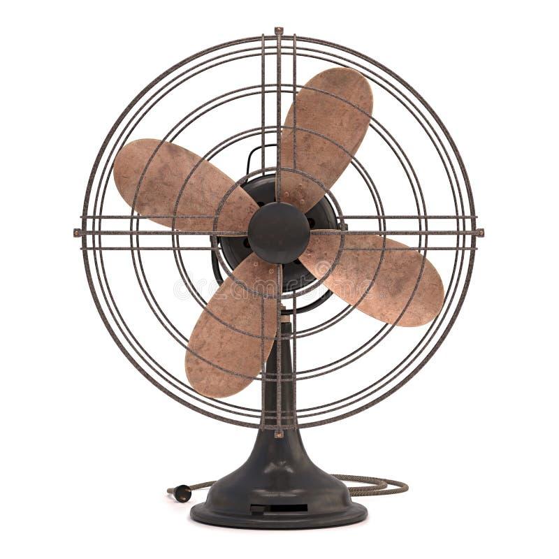 Download Old Antique Fan stock photo. Image of grid, cooler, breeze - 43442400