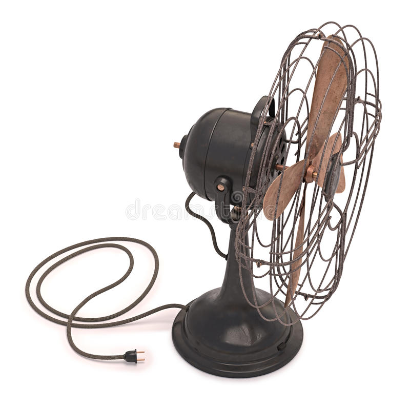Download Old Antique Fan stock image. Image of rotation, blade - 43461483