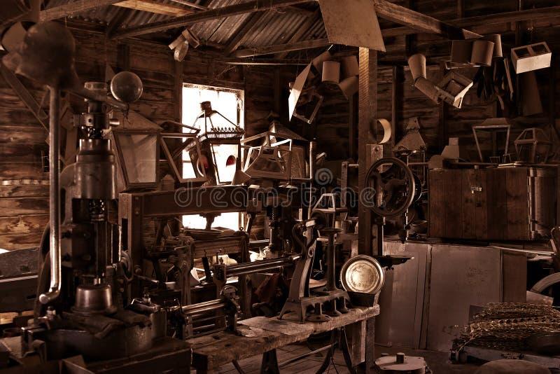 Download Old Antique Vintage Workshop Stock Photo - Image: 3227234