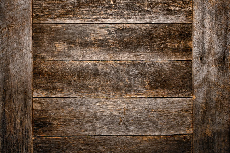 Old and Antique Wood Plank Board Grunge Background royalty free stock photos