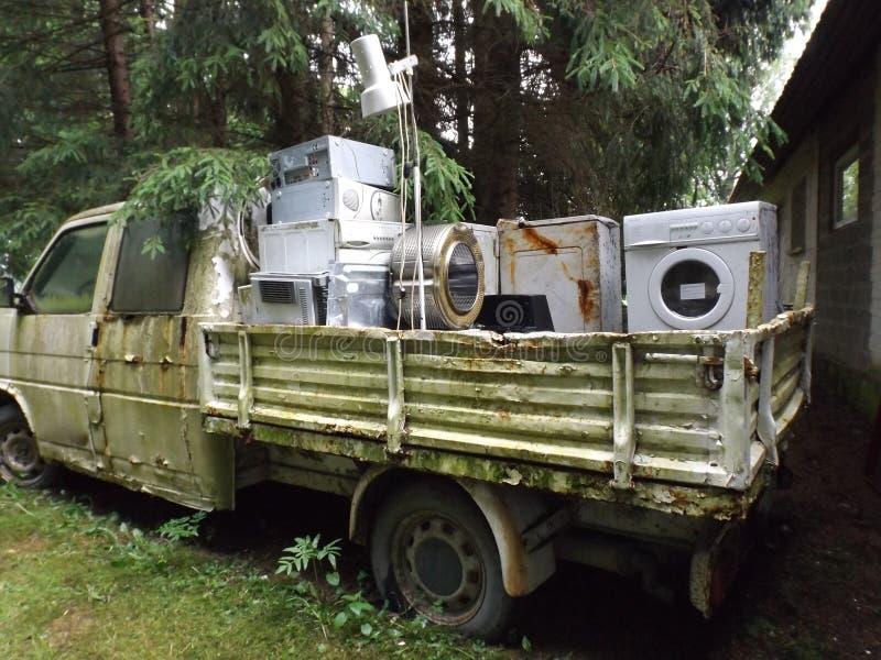 Old appliances stock photo