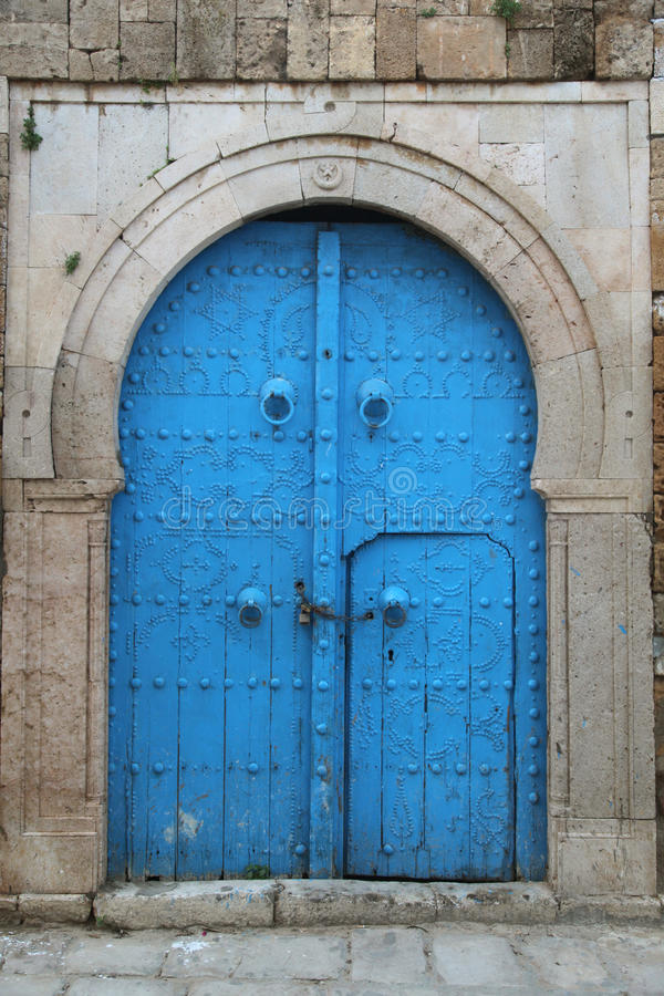 Download Old arabic door stock photo. Image of medieval, door - 39921666