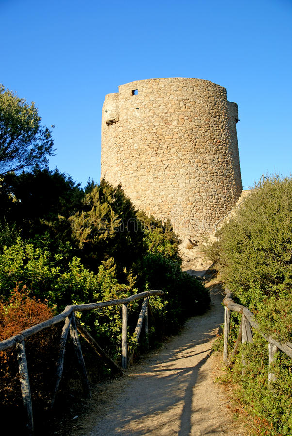 Free Old Aragon Tower Stock Image - 10861011