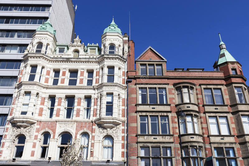 Old architecture of Belfast royalty free stock image