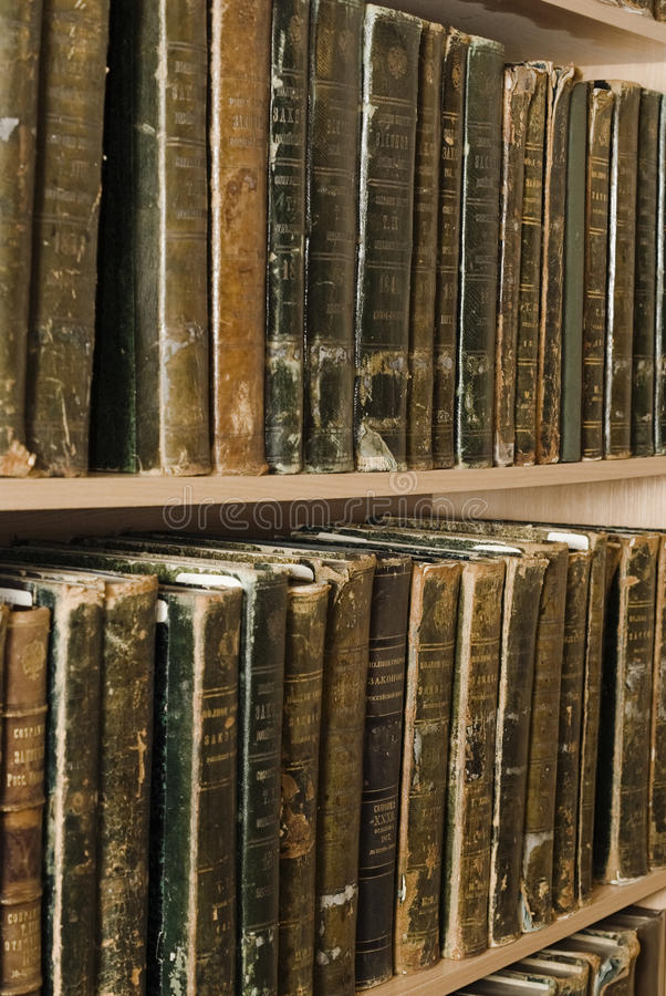 Free Old Archival Books Of 19 Centuries Stock Photo - 13479850