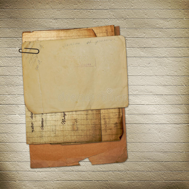 Download Old Archive With Letters, Photos Royalty Free Stock Photos - Image: 25212898