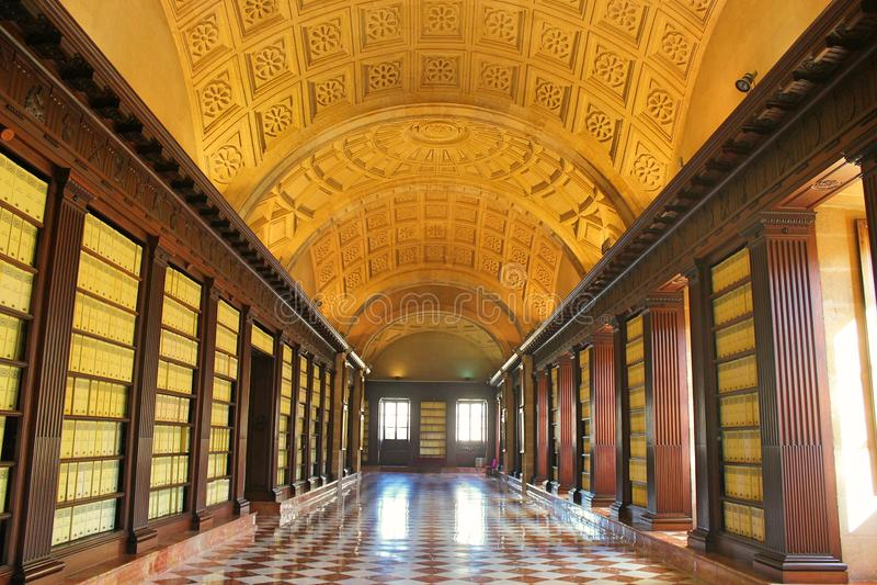 Archivo General de Indias of Sevilla in Spain. royalty free stock image