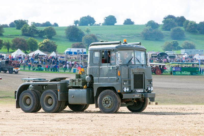 Old Army truck stock images