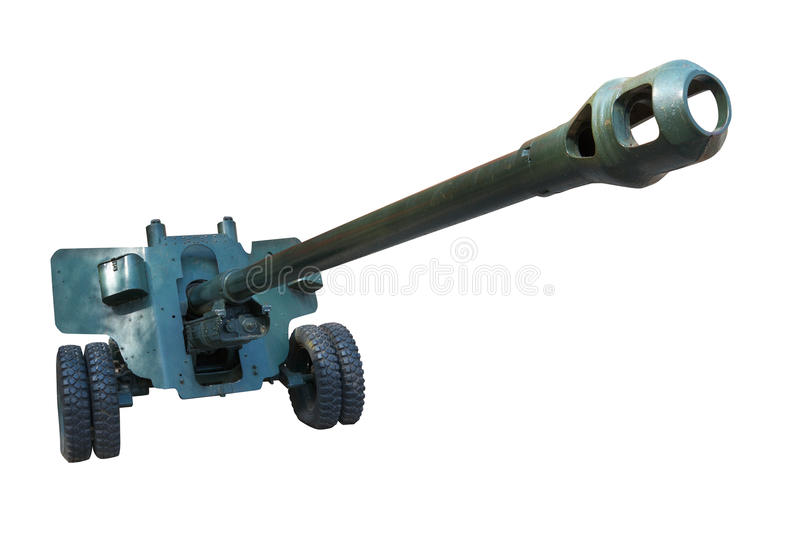 Download Old artillery cannon. stock image. Image of metallic - 14198209