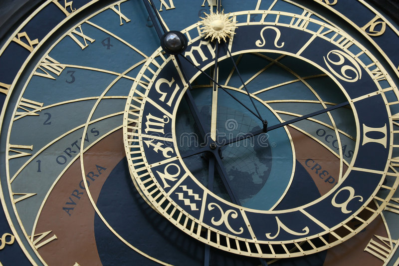 Download Old Astronomical Clock In Prague Stock Photo - Image: 5732596