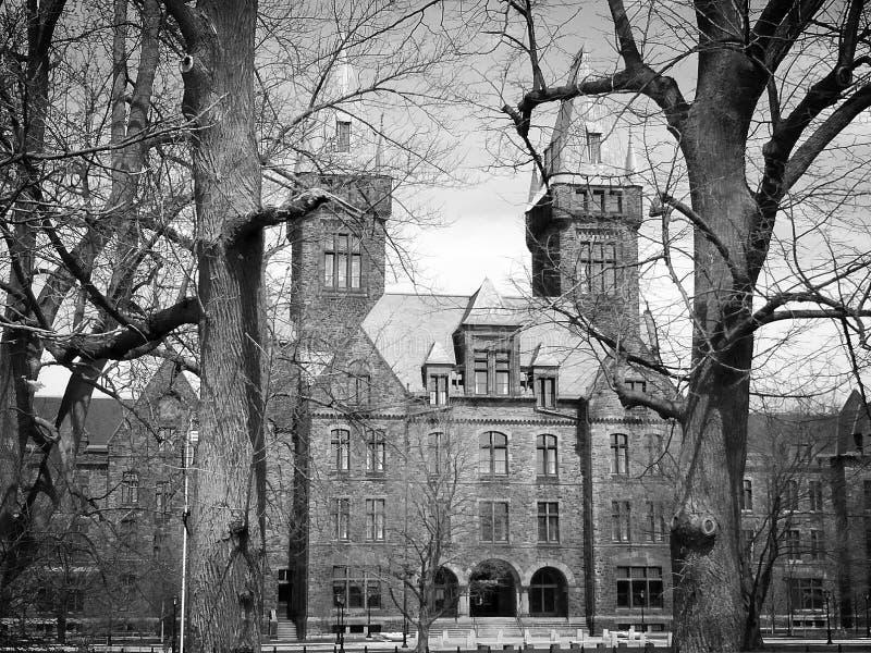 Old asylum. An asylum that is now a landmark royalty free stock photo