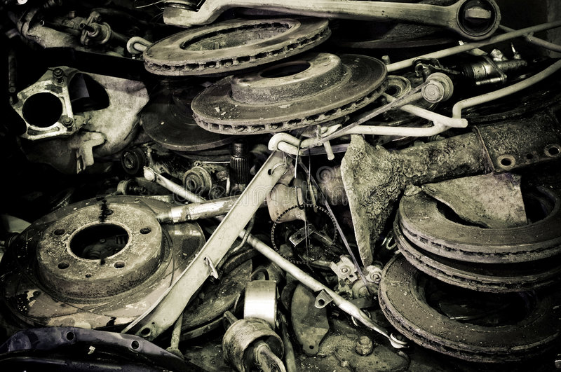 Download Old automotive parts stock photo. Image of wheels, metal - 6705296