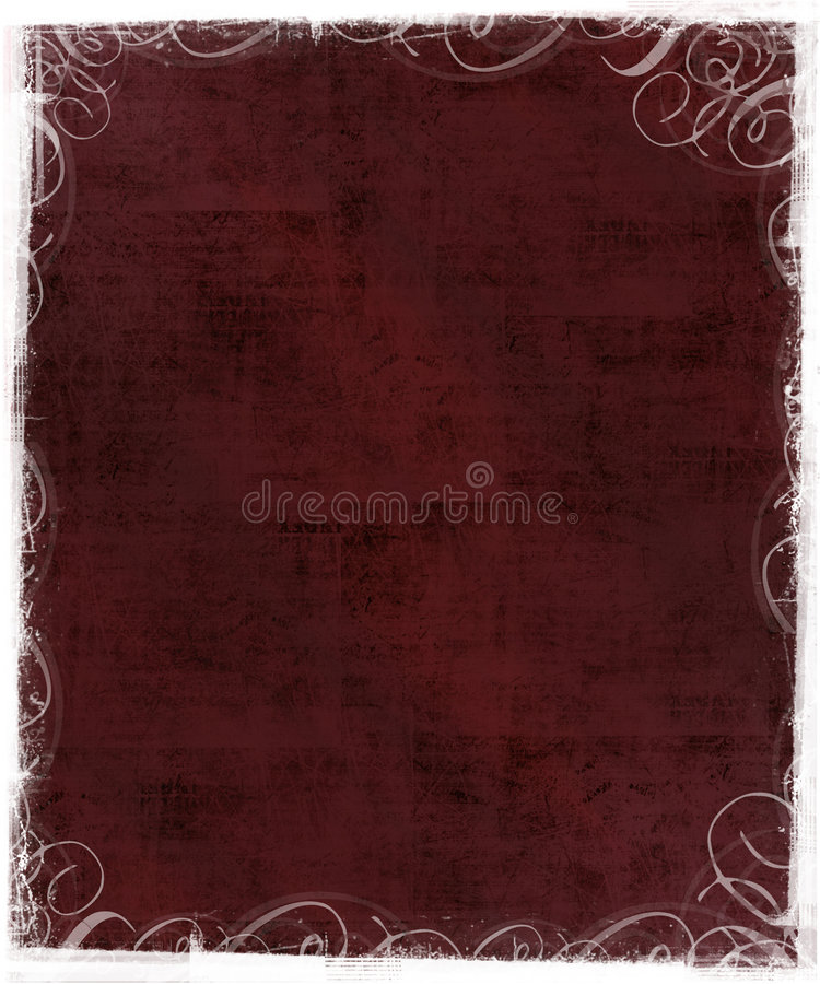 Old Background With Victorian Frame Stock Photos