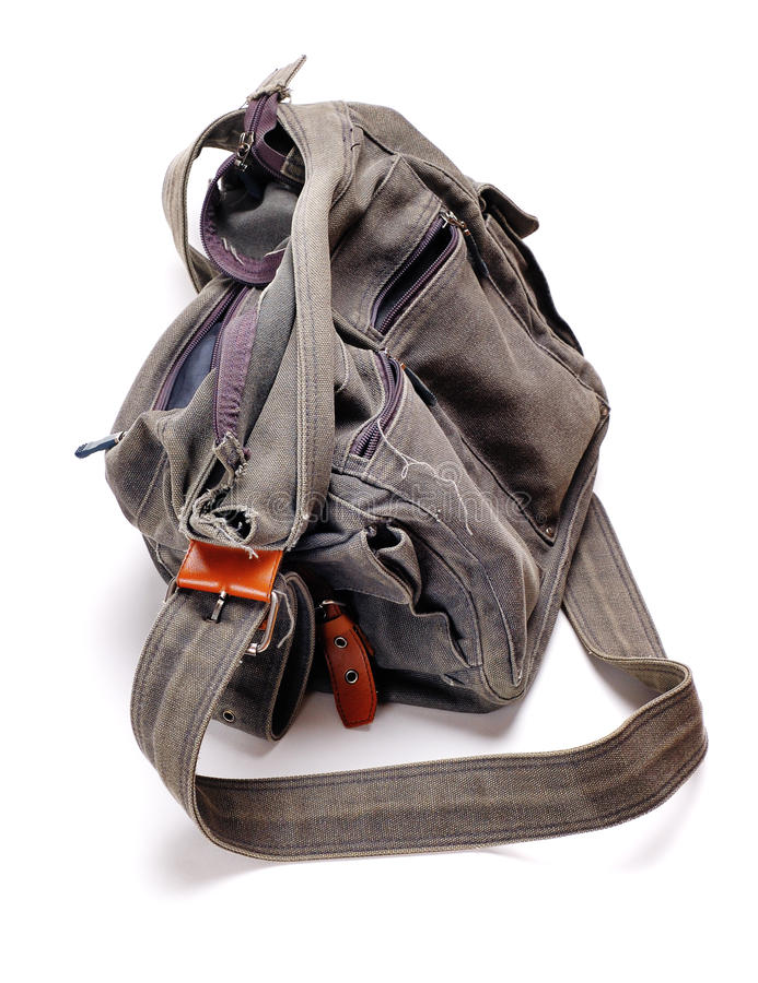 Free Old Bag. Royalty Free Stock Photo - 22089545