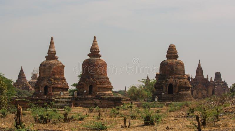 Old Bagan stock image