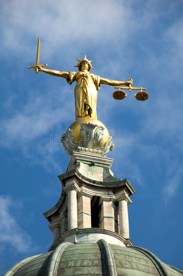 Free Old Bailey (Lady Of Justice) Stock Photography - 3140582